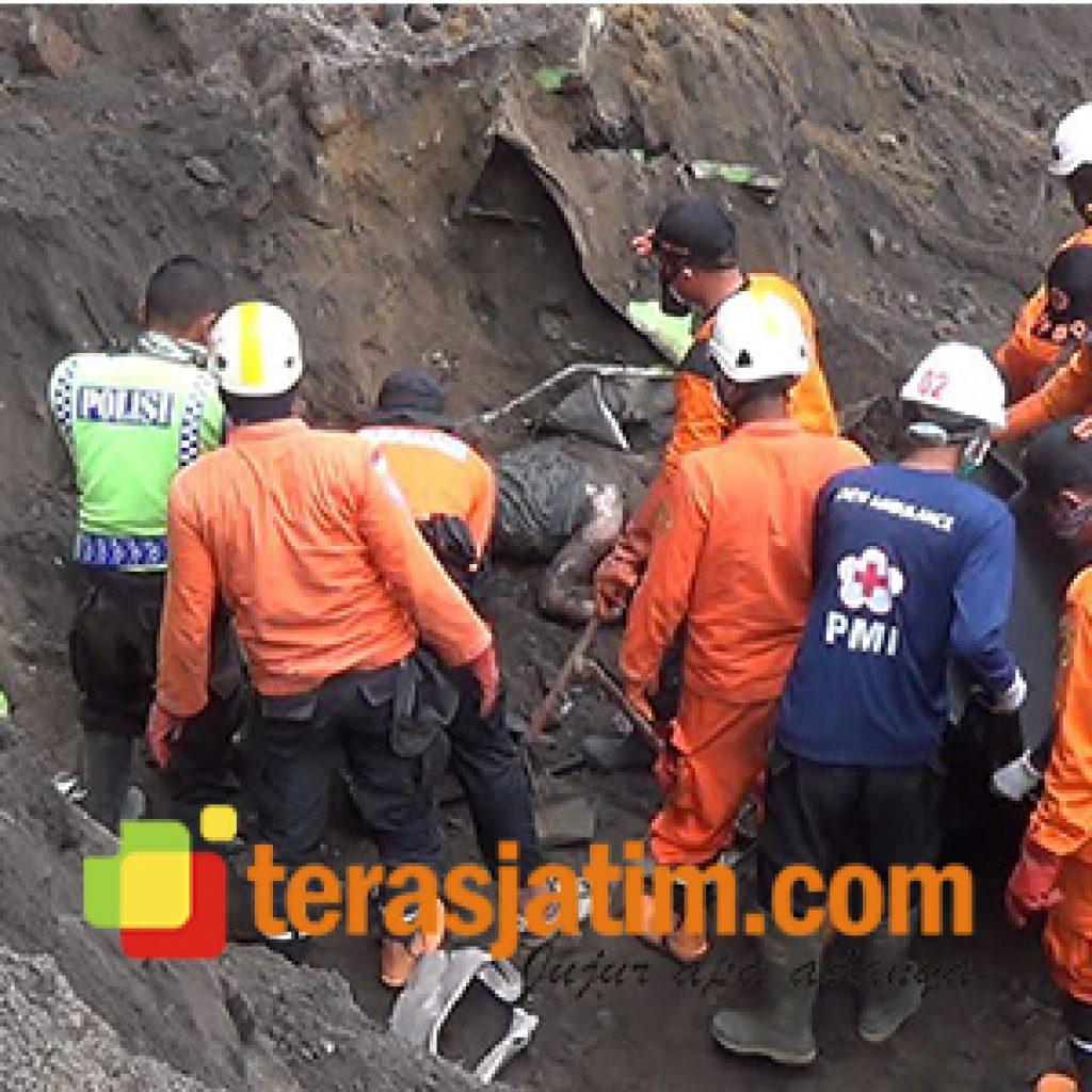 Jasad Sopir Truk Korban Longsor Gunung Kelud Ditemukan