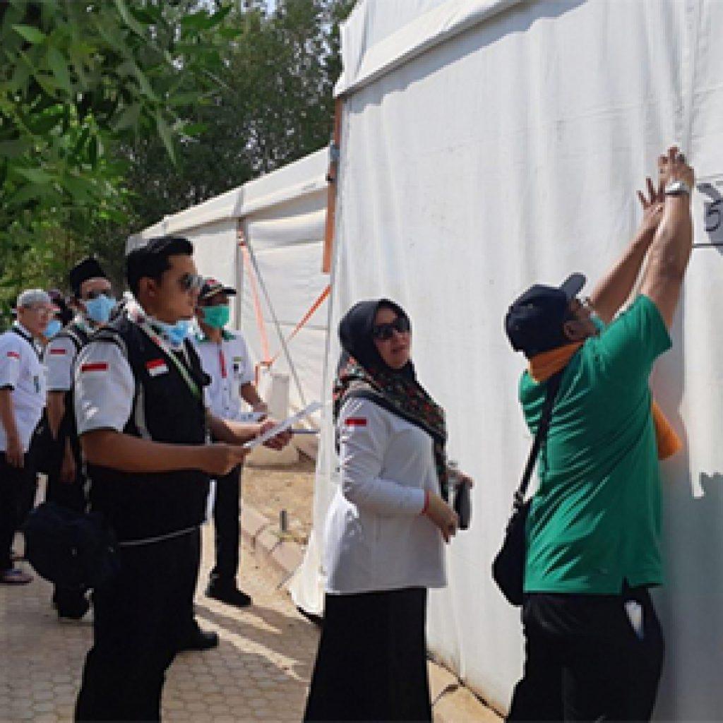 Jelang Wukuf, 5500 Tenda Jemaah Asal Indonesia Di Arafah