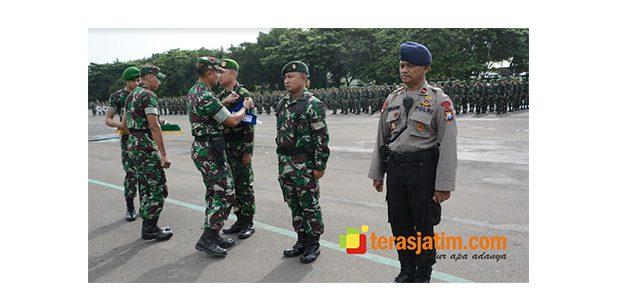 1.200 Personel Gabungan Ikuti Latihan Pengamanan Pemilu