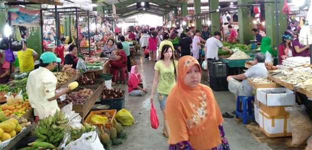 10 Hari Jelang Lebaran, Harga Bahan Pokok di Pasar Tradisional Tetap Stabil