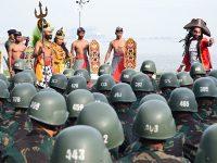 115 Taruna dan Taruni Jalani Tradisi Penyambutan di AAL Bumimoro Surabaya