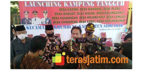 12 Desa di Kecamatan Krembung Sidoarjo Dirikan Kampung Tangguh
