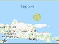 2 Kali Gempa Tektonik di Laut Jawa Tak Berpotensi Tsunami
