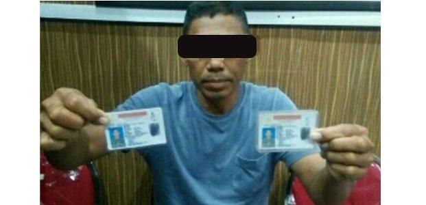 2 Kali Tak Lulus Ujian SIM, Seorang Pria di Blitar Nekat Bikin SIM Palsu