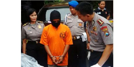 2 Pria asal Kediri Tersangka Pelaku Pembunuhan Sopir Taksi Online di Surabaya