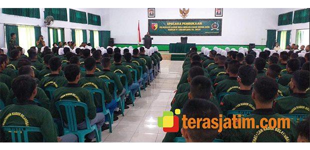 250 Pelajar Tingkat SLTA di Malang, Ikuti Penataran Bela Negara di Rindam Brawijaya