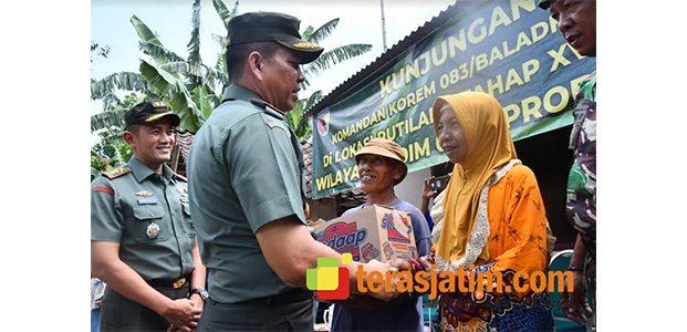 3.020 Rumah Tidak Layak Huni di Wilayah Korem Baladhika Jaya