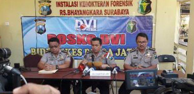 3 Jenazah Terduga Teroris di Rusunawa Sidoarjo Sudah Diserahkan ke Keluarga