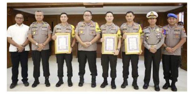 Tiga Kapolres Raih Penghargaan Sebagai Polisi Teladan Polda Jatim