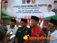 3 Parpol Gelar Konsolidasi Untuk Usung Sholahudin di Pilkada Lamongan