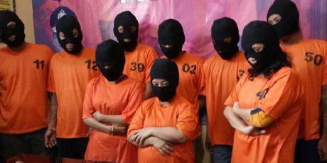 3 Wanita dan 24 Pria Pengedar Narkoba di Mojokerto Diamankan, Seorang Hamil Tua