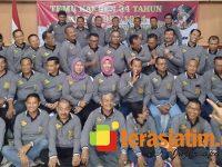 34 Tahun Mengabdi, Bolodewo 54 Jatim Berkumpul di Songgoriti