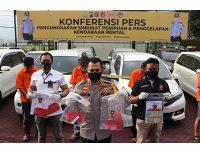 Sindikat Penipuan Mobil Rental di Trenggalek Dibongkar, 10 Mobil Diamankan