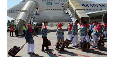 440 Jamaah Calon Haji Kloter 1 Embarkasi Surabaya Diberangkatkan