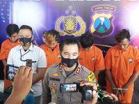 5 Pelaku Pelemparan Bom Motolov di Pogalan Trenggalek Ditangkap
