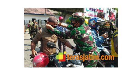 5 Ribu Masker Ludes Disebar di Surabaya Utara
