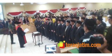 50 Anggota DPRD Bojonegoto Periode 2019-2024 Resmi Dilantik