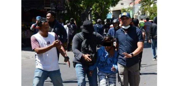 50 Terduga Provokator Demo di Surabaya Diamankan, 2 Diantaranya Pelajar SD