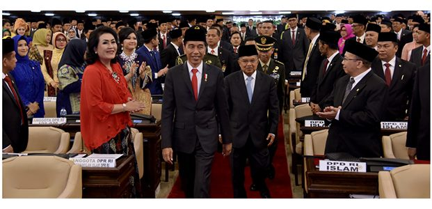 575 Anggota DPR RI Periode 2019-2024 Resmi Dilantik