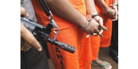 6 Anggota Komplotan Pencuri Truk di Mojokerto Ditangkap, 1 Orang Ditembak