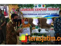 6 Desa di Wilayah Jabon Sidoarjo Launching Kampung Tangguh
