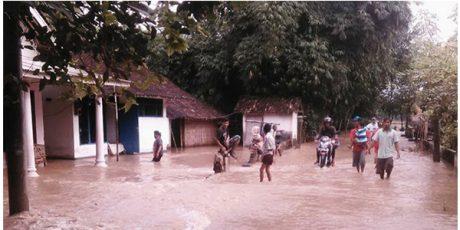 6 Kecamatan di Kabupaten Jember Terendam Banjir