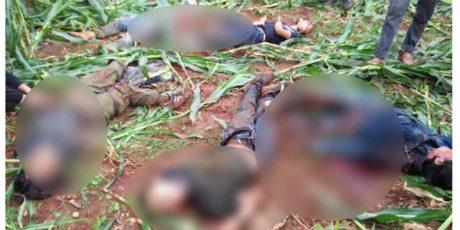 6 Terduga Pelaku Teror Berhasil Ditembak Mati di Jenu Tuban