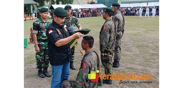 68 Personel Raider 500, Resmi Jadi Warga Sikatan