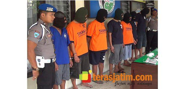 7 Orang Anggota Sindikat Pengedar Sabu Digulung Polisi Blitar Kota