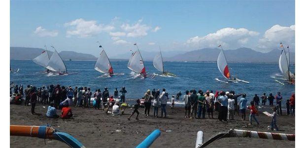94 Peserta Ikuti Lomba Perahu Layar se-Jawa dan Bali di Banyuwangi