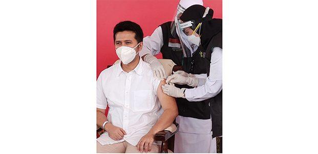 Wagub Emil Awali Program Vaksinasi Covid-19 di Jatim