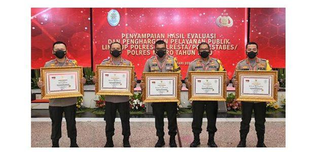 Raih Predikat Pelayanan Prima, Kapolrestabes Surabaya Apresiasi Kinerja Anggotanya