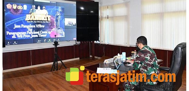 Klaster Baru, Pangdam Brawijaya Instruksikan Para Dansat Kumpulkan Informasi