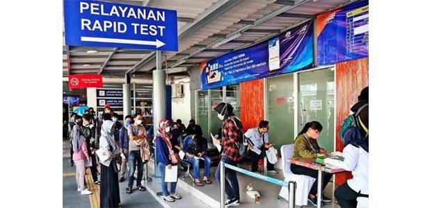 Tarif Rapid Test Antigen di Stasiun, Kini Turun Menjadi Rp45 Ribu