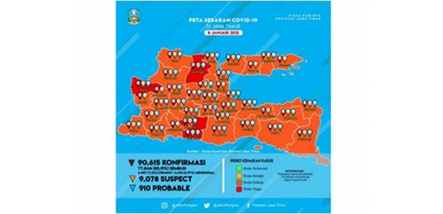 11 Kabupaten/Kota di Jatim Berlakukan PPKM, Ini Daftarnya
