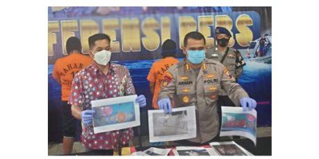 Ditpolairud Polda Jatim Tangkap 2 Penyelundup Benur di Blitar dan Tulungagung
