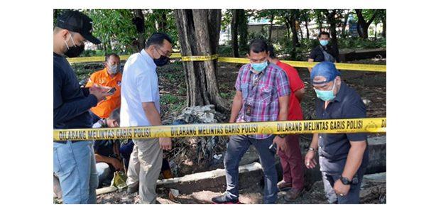 Peristiwa Ledakan di Sekitar SPBU Margomulyo, Polisi Gelar Olah TKP