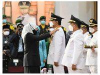 Gus Ipul Dilantik Jadi Wali Kota Pasuruan, Ini Kata Gubernur Khofifah