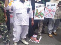 Ormas Islam di Surabaya Gelar Aksi Demo di Konjen Perancis