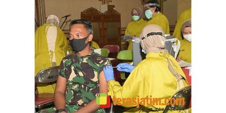 Kodam Brawijaya Kebut Vaksinasi Hanya Dalam 3 Hari
