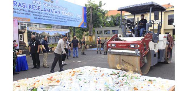 12 Hari Operasi Pekat di Surabaya, Ribuan Tersangka Dikandangkan Polisi