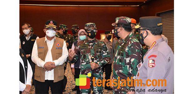 Kawal PPKM Darurat di Jatim, Pangdam: 2.014 Pasukan 3 Matra TNI Diturunkan