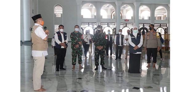 Sudah Sesuai Prokes, Masjid Akbar Surabaya Siap Gelar Solat Ied