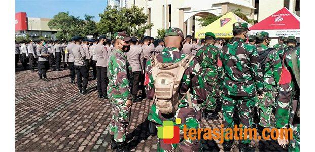 Aparat TNI-Polri Kawal Kongres HMI di Surabaya
