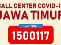 Sejak Pandemi Covid Masuk Jatim, Posko Call Center 1500117 Terima 5.757 Laporan