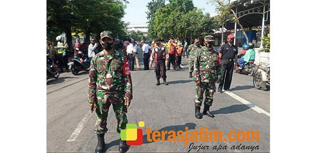 Razia Prokes di Pegirian Surabaya, 55 Pelanggar Didenda