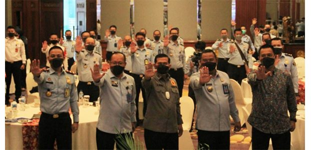 Perkuat Sistem Anti Korupsi, Imigrasi Surabaya Undang Satgas Saber Pungli