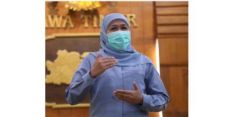 Bupati Nganjuk Terjaring OTT, Gubernur Khofifah: Proses Hukumnya Kita Serahkan Kepada KPK