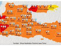 Menyusul Bangkalan, Ponorogo dan Ngawi Berstatus Zona Merah