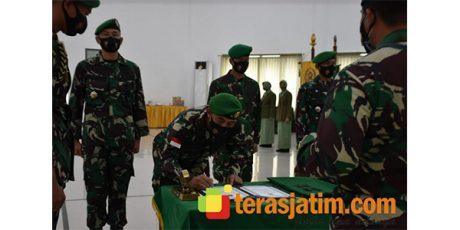 Jabatan Kasrem Bhaskara Jaya dan Dandim Bangkalan Berganti